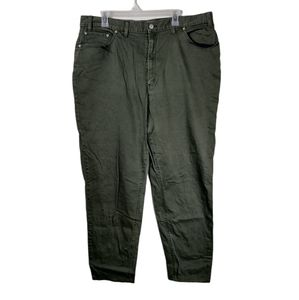 22m Levi's 550 relaxed fit green straight leg pant